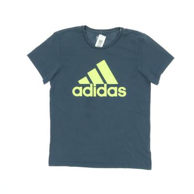 Adidas fekete/sárga póló