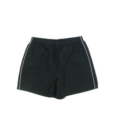Active fekete sport rövidnadrág