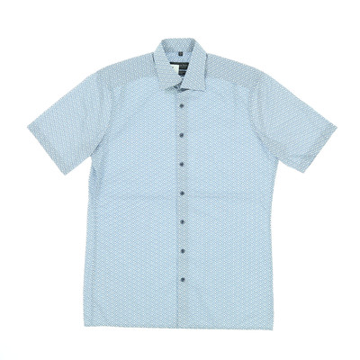 Tailor & Son kék rövid ujjú ing