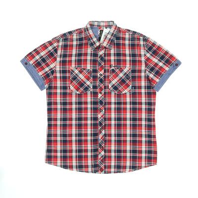 Tom Tailor piros/kék ing