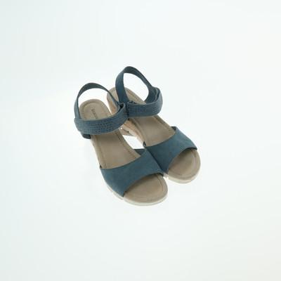 Graceland kék telitalpú szandál