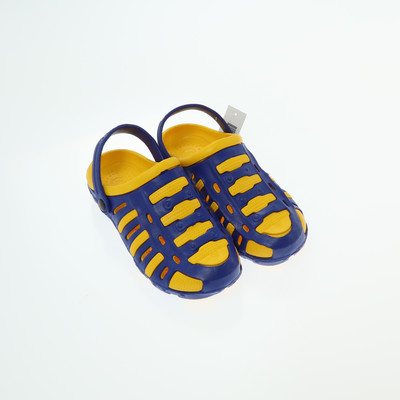 Marco Pony kék/sárga papucs