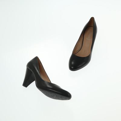 5th avenue fekete magassarkú cipő