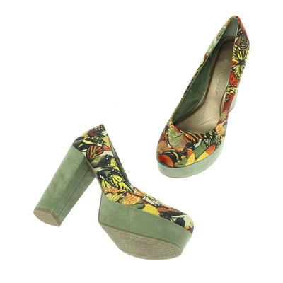 Marco Tozzi színes magassarkú cipő