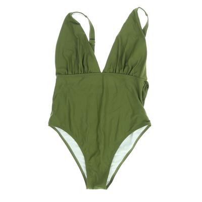 Zaful zöld egyberészes fürdőruha