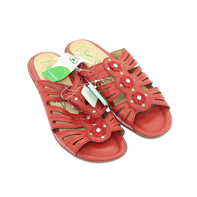 Footflexx piros papucs