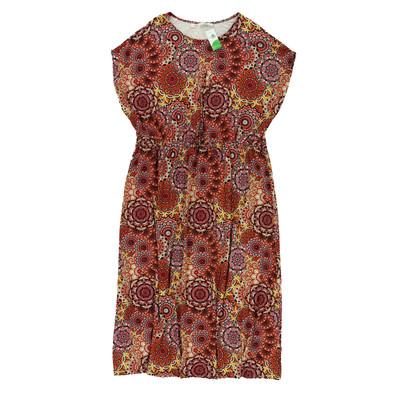 Bpc színes maxi ruha