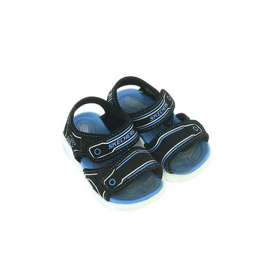 Skechers fekete világítós szandál