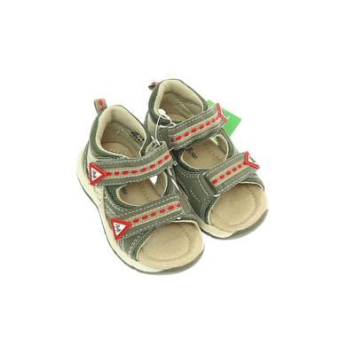 Bobbi Shoes zöld szandál