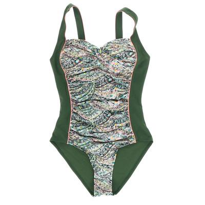 Hunkemöller zöld egyberészes fürdőruha