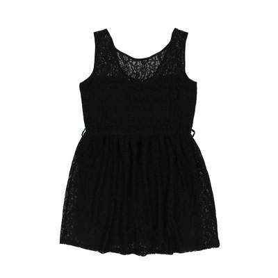 Laura Torelli fekete egész ruha