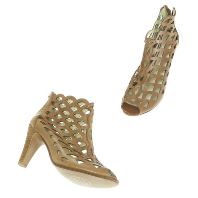 Gerry Weber barna magassarkú cipő