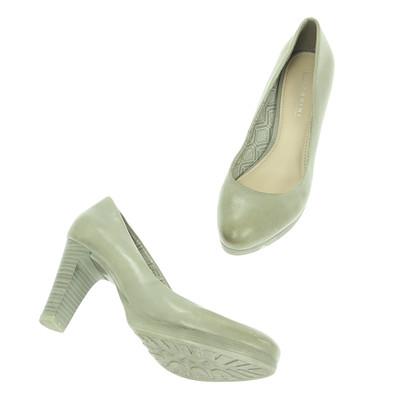 Lazzarini barna magassarkú cipő