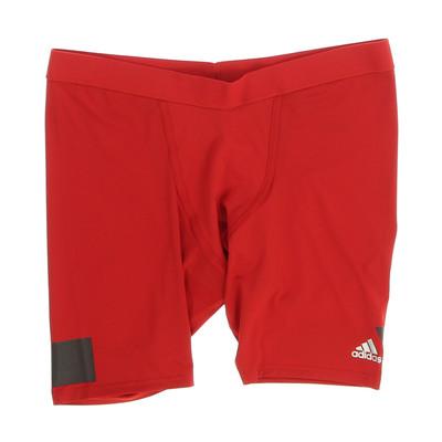 Adidas piros sport rövidnadrág