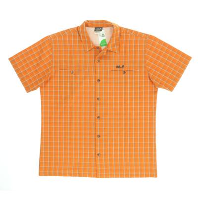 Jack Wolfskin narancssárga rövid ujjú ing