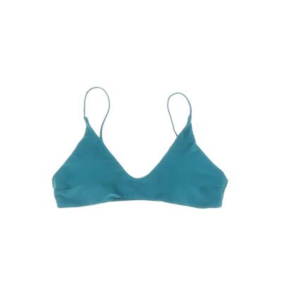 Zaful kék bikini felső