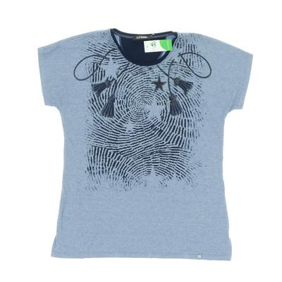 Golléhaug kék póló