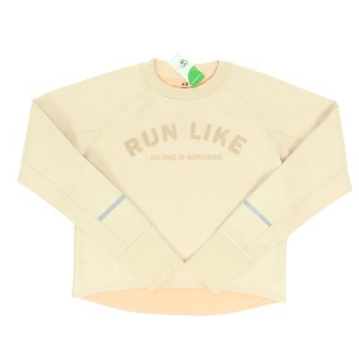 H&M bézs pulóver
