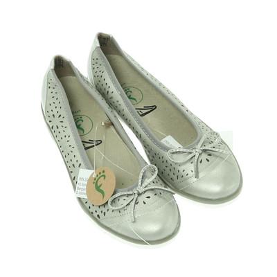Footflexx ezüst félcipő