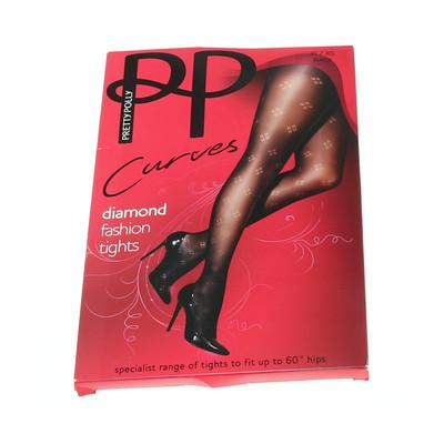 Pretty Polly fekete mintás harisnyanadrág