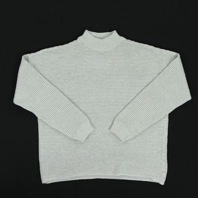 H&M szürke kötött pulóver