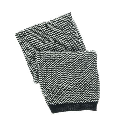Hugo Boss fekete/fehér kötött sál