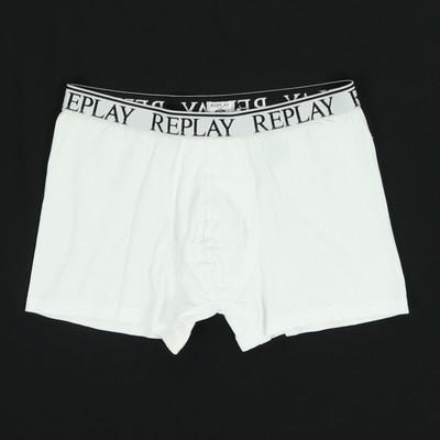 Replay fehér boxeralsó
