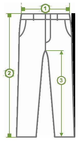 Nadrág mérése